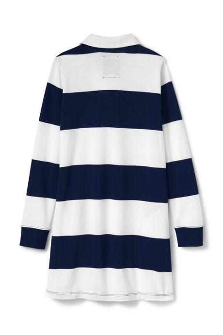 Little Girls Rugby Shirt Dress