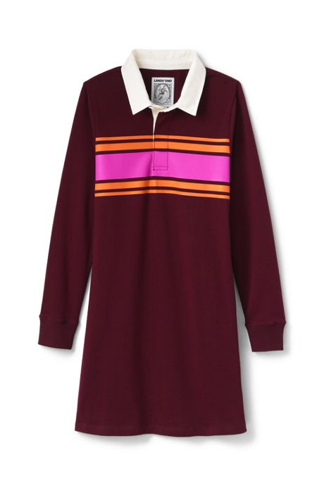 Little Girls Rugby Shirt Dress