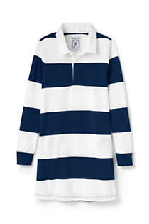 Girls Plus Size Rugby Shirt Dress, Front