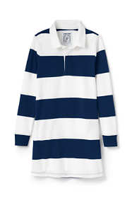 Girls Plus Size Rugby Shirt Dress