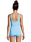 Maillot 1 Pièce Tugless Imprimé Bonnet E, Femme Stature Standard