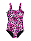 Women's Chlorine Resistant Tugless Swimsuit, Print