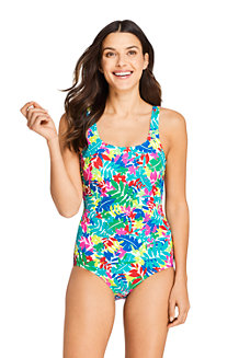 Women's Chlorine Resistant Mastectomy Tugless Swimsuit
