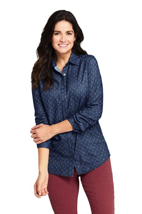 Women's Cotton Flannel Shirt
