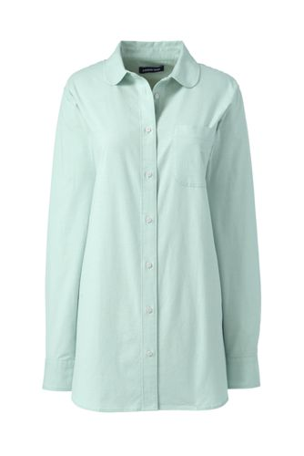 Women's Oxford Tunic with Peter Pan Collar