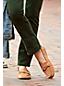 Komfort-Pennyloafer aus Veloursleder für Damen
