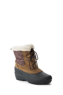Women's Lace-up Snow Boot