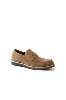 Men's Comfort Casual Suede Penny Loafer