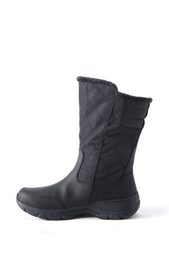 Women's Wide Width Insulated All Weather Winter Snow Boots