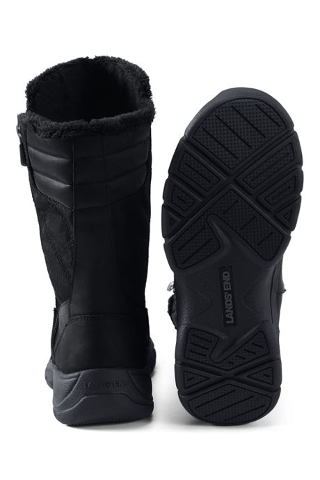 School Uniform Women's Wide Width Insulated All Weather Winter Snow Boots