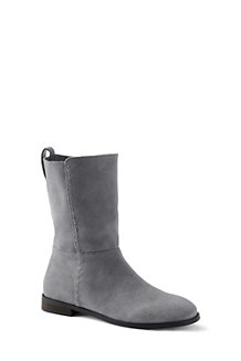 Women's Suede Slouch Boots