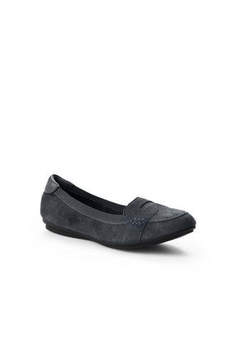 Komfort-Loafer aus Veloursleder für Damen