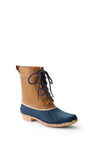 School Uniform Women's Insulated Flannel Lined Duck Boots