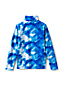 Kids' Patterned Half Zip Fleece Top