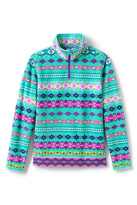 Toddler Kids Fleece Quarter Zip Sweater