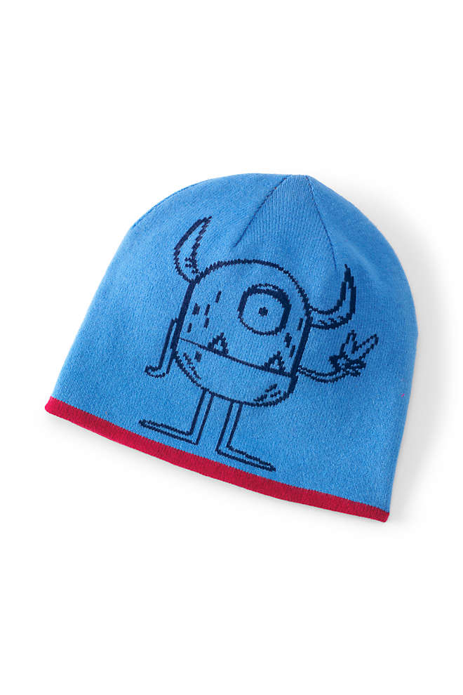 Kids Reversible Knit Beanie, Front