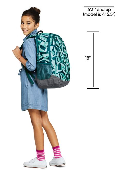 School Uniform Kids TechPack Large Backpack