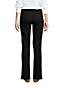Schwarze Bootcut Jeans Mid Waist für Damen