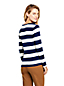 Women's Cotton Striped Jersey V-Neck Tee