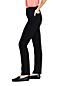 Women's Curvy Straight Leg Black Jeans