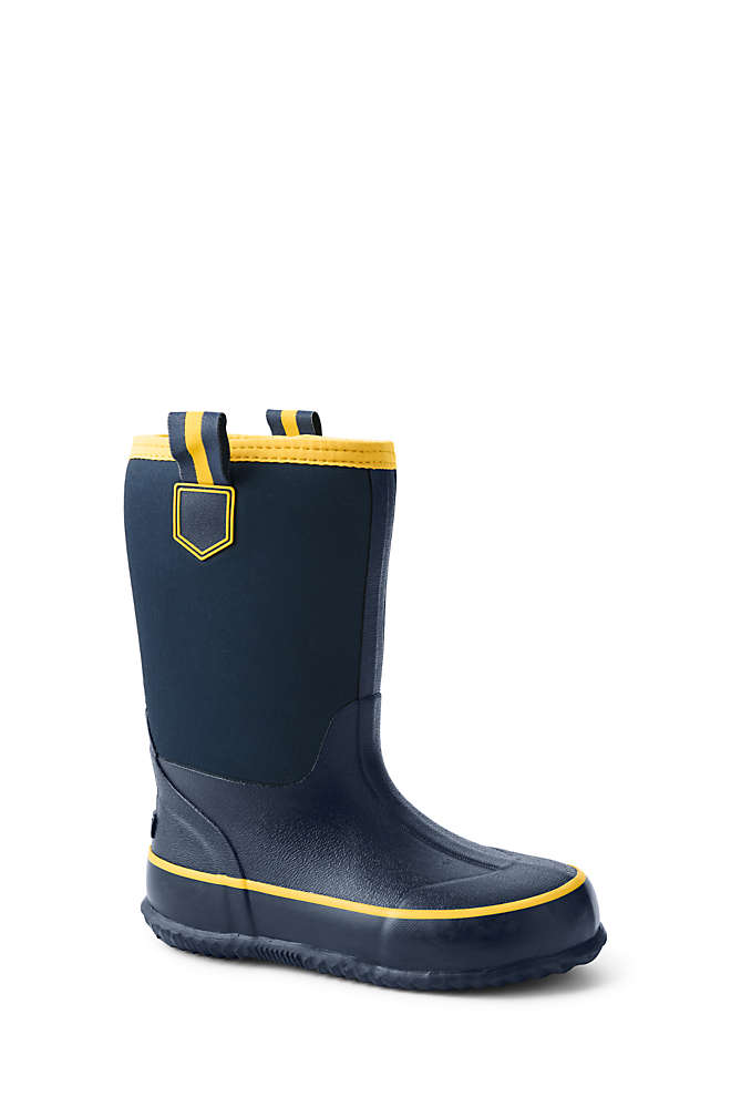 Toddlers Insulated Waterproof Rain Boots, Front