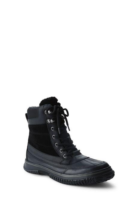 School Uniform Men's Insulated Winter Boots