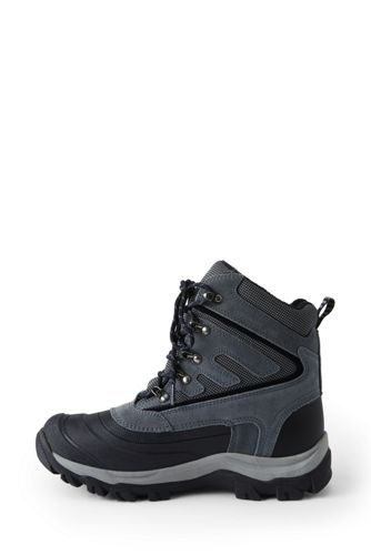 School Uniform Men's Squall Lace Up Insulated Winter Snow Boots