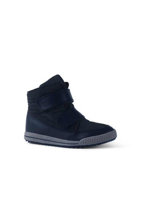 School Uniform Kids Double Strap Ankle Boots