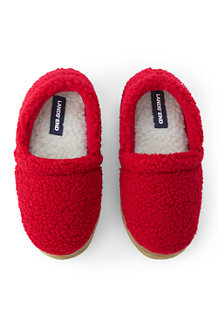 Kids' Sherpa Fleece Slippers