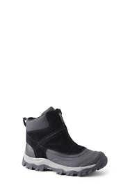 School Uniform Men's Squall Zip Insulated Winter Snow Boots