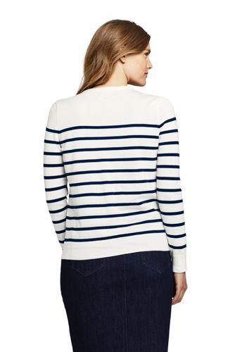 Women's Supima Cotton Embellished Cardigan Sweater