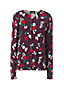 Women's Supima Print Long Sleeve Cardigan