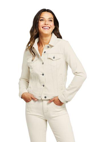 Veste en Jean Stretch Nature, Femme Stature Standard