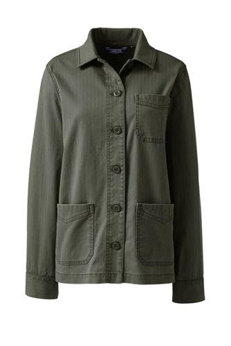 Women's Chino Shirt Jacket