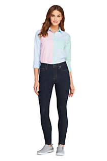 Women's Tall Mid Rise Skinny Jeans - Blue , Unknown