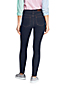 Jean Indigo Skinny Taille Mi-Haute, Femme Stature Petite