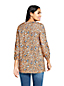 Women's Patterned Brushed Twill Tunic