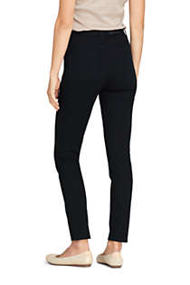 Women's High Rise Slim Straight Leg Ankle Jeans, Back