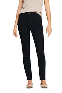 Women's High Rise Slim Straight Leg Ankle Jeans, Front