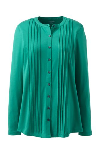Women's Cotton-modal Pintucked Tunic
