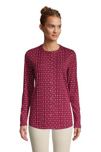 Tunique Légère en Coton et Modal Stretch, Femme Grande Taille