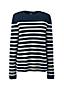 Women's Long Sleeve Stripe Cashmere Jumper