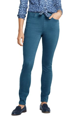 High Waist Jeggings in Farbe