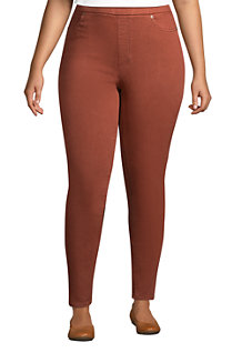Women's High Waisted Pull-on Legging Jeans, Colour