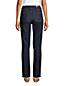 Jean Amincissant Droit Taille Haute Indigo, Femme Grande Taille