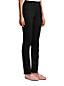 Jean Amincissant Droit Taille Haute Noir, Femme Stature Standard
