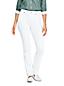 Jean Droit Stretch Naturel Taille Mi-Haute, Femme Stature Standard