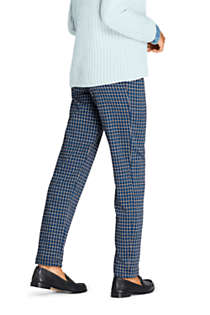 Women's Petite Sport Knit High Rise Elastic Waist Pull On Pant - Print, Unknown