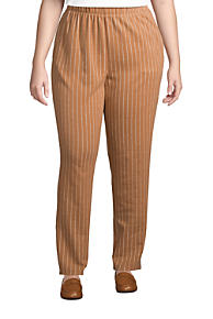 Details about  /Lands End Lighthouse Womens Straight Leg Khaki Pants Trousers Beige Plus 18W New