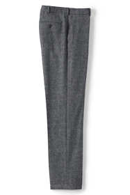 Men's Traditional Fit Wool Birdseye Dress Pants